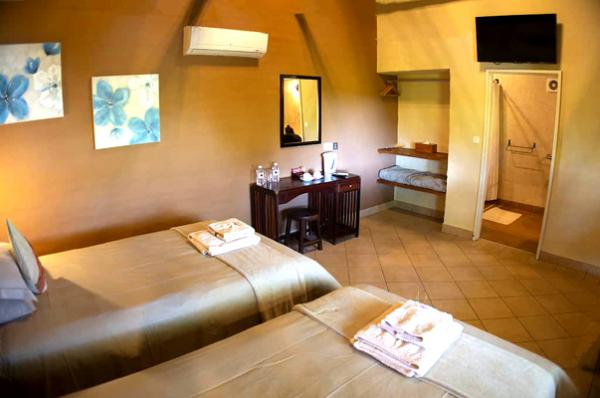 Room at Island Safari Lodge in Maun, Botswana