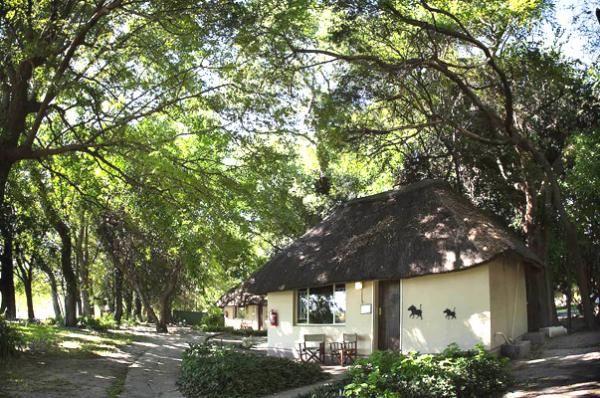 Chalets at Island Safari Lodge in Maun, Botswana