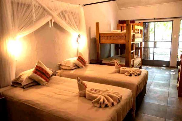Family room at Island Safari Lodge in Maun, Botswana