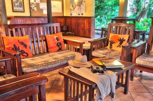 Relax at Island Safari Lodge in Maun, Botswana