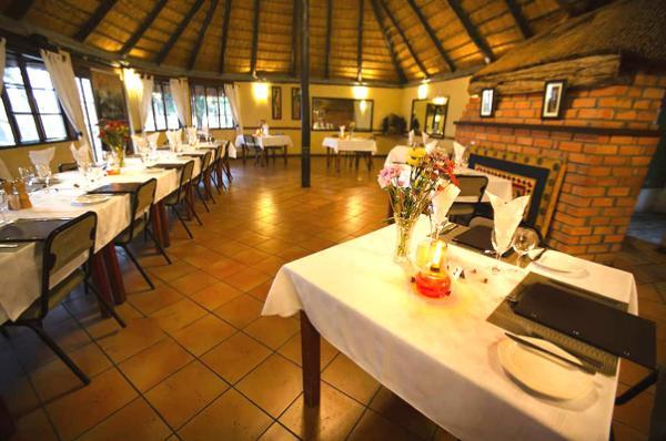 Restaurant at Island Safari Lodge in Maun, Botswana