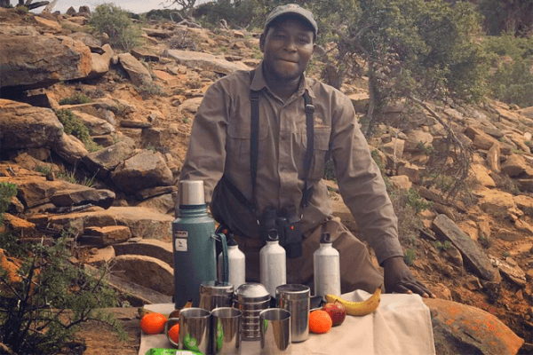 Friendly staff at Koedoeskop Private Mountain Reserve