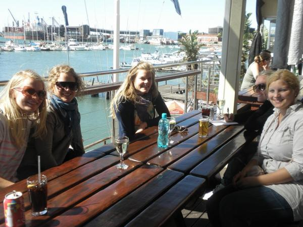 Big 7 Safaris lunch at the harbour