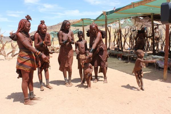 Himba Tribe with Alan Tours
