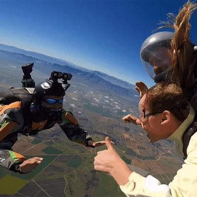 Skydive Two Oceans
