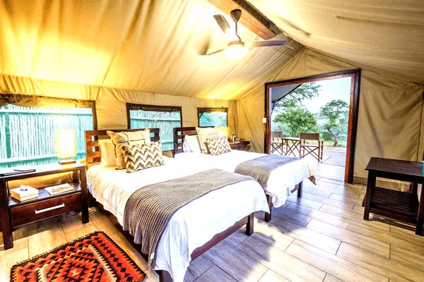 Sleep at Mavela Game Lodge