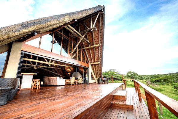 Stay at Mavela Game Lodge