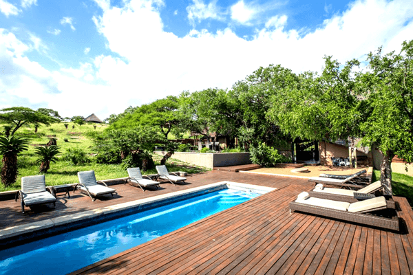 Swim at Mavela Game Lodge