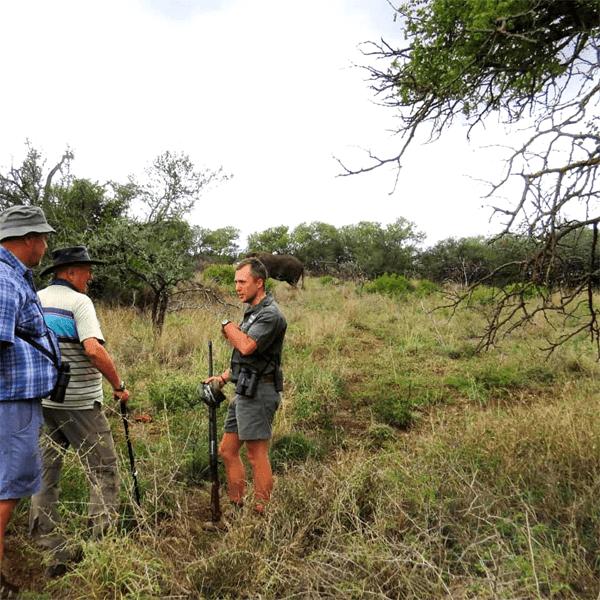 Walking Safaris at Mavela Game Lodge
