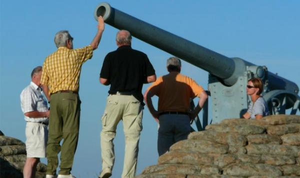 Cannon with Apex Tours & Safaris