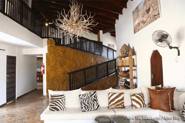 Relax at Zebra Hills Safari Lodge