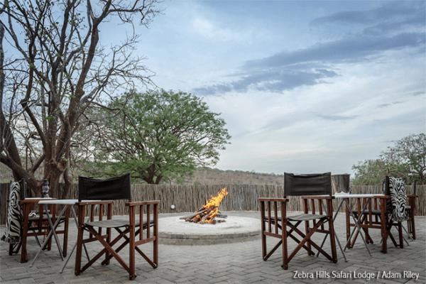 Bomb Fire at Zebra Hills Safari Lodge