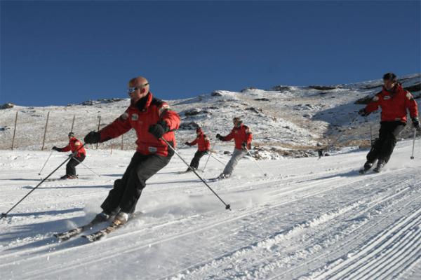 Skiboarding at Tiffindell Ski Resort