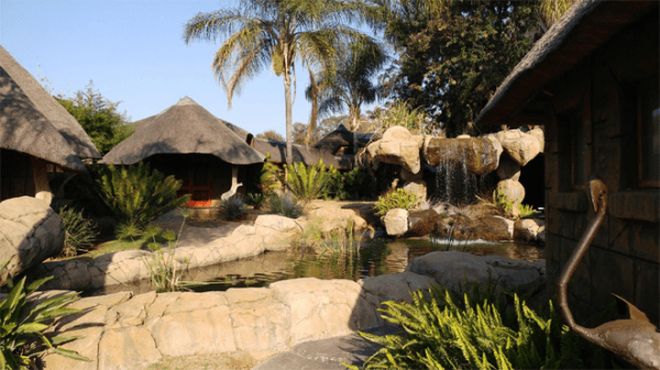 Outside Area at Bushman's Rock Country Lodge