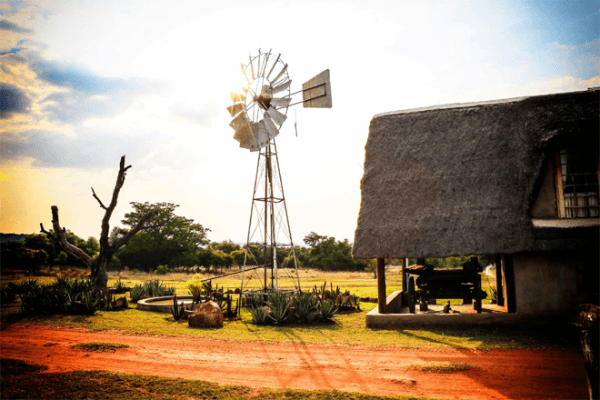 Windmill at Meloti Valley Private Game Destination