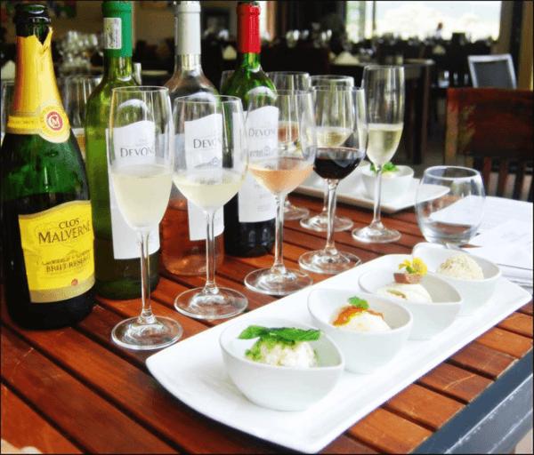 Wine Tasting at Clos Malverne Wine Estate