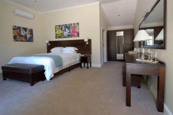 Room at Clos Malverne Wine Estate