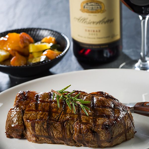 Steak at The Hussar Grill Franschhoek