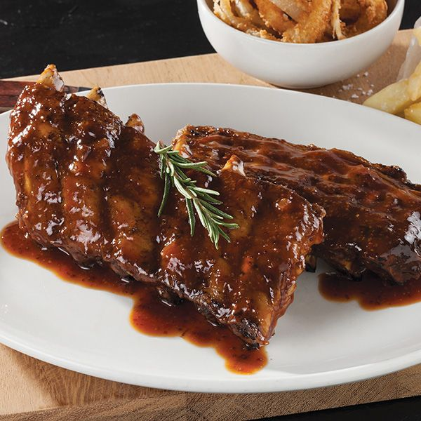 Ribs at The Hussar Grill Franschhoek