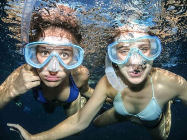 Snorkeling at Paraiso do Ouro Resort