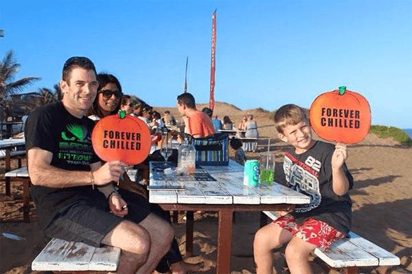 Family fun at Beach Bums Restaurant