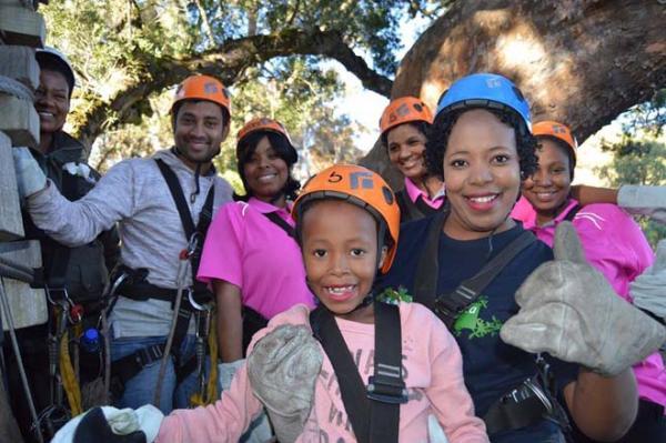 Family fun at Tsitsikamma Canopy Tour