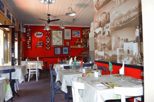 Dining at Fabio's Ristorante and Pizzeria