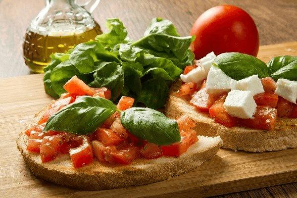 Food at Fabio's Ristorante and Pizzeria