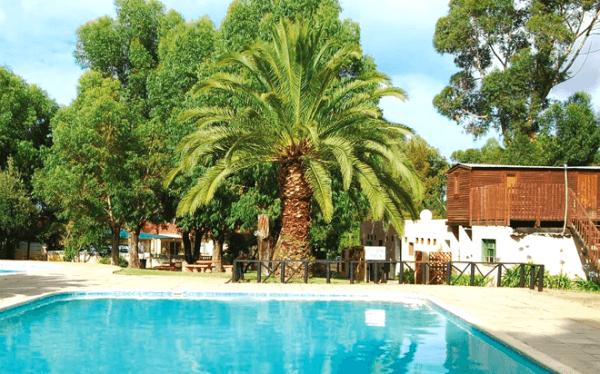 Swimming pool at Zonnekus Holiday Resort