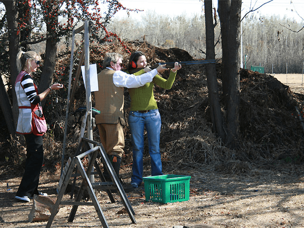Clay Shooting at Waterhaven Country Estate