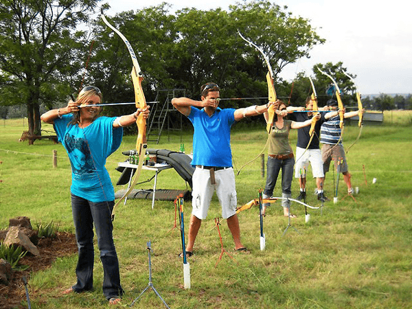 Archery at Waterhaven Country Estate