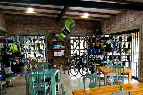 Mountain Bike Shop & Coffee Shop