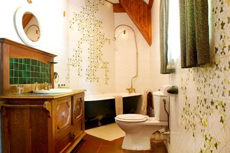 Bathroom at The Bend Country House