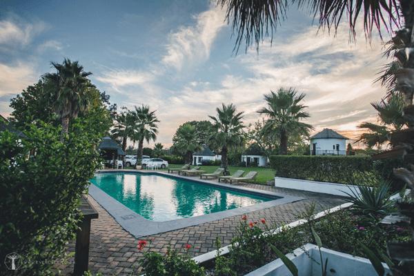 Swimming pool at Bella Manga Country Escape