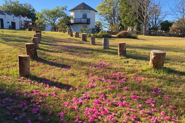 Garden path at Bella Manga Country Escape
