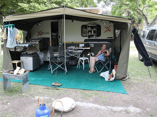 Camping at Woodbourne Resort
