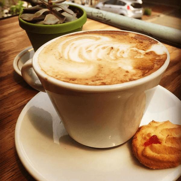Cappuccino at Soul Souvlaki