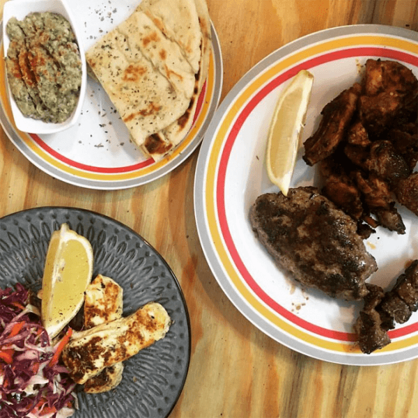 Dining at Soul Souvlaki