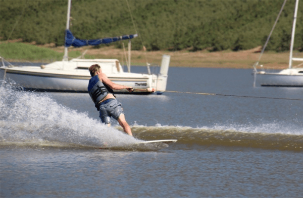 Water skiing at Theewater Sports Club