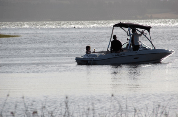 Boat at Theewater Sports Club