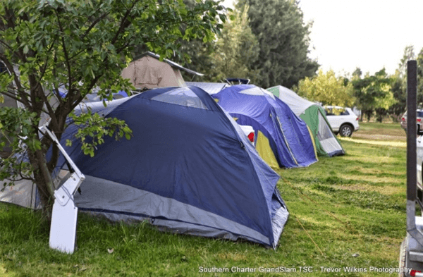 Camping at Theewater Sports Club