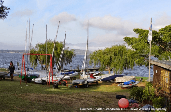 Boats at Theewater Sports Club
