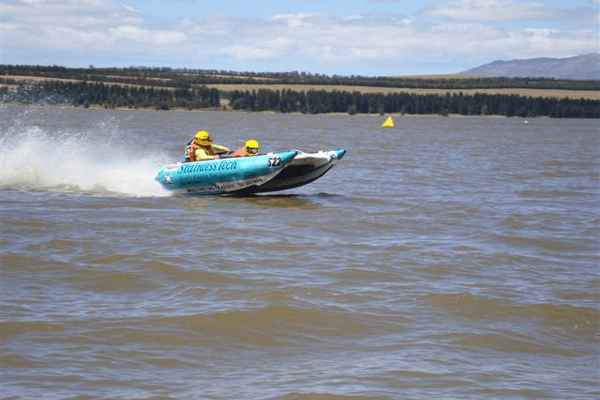 Speed boat at Theewater Sports Club