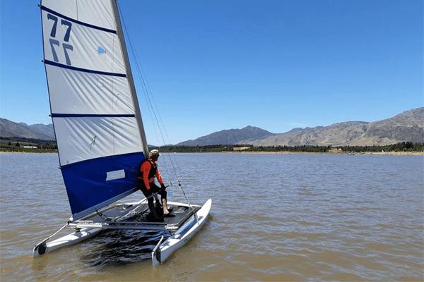 Sailing at Theewater Sports Club