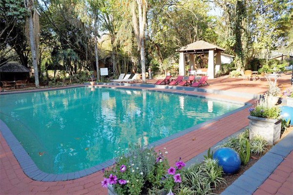Swimming pool at Mbombela Holiday Resort and Spa