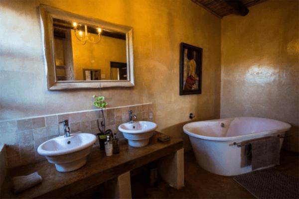Bathroom at Uitkyk House