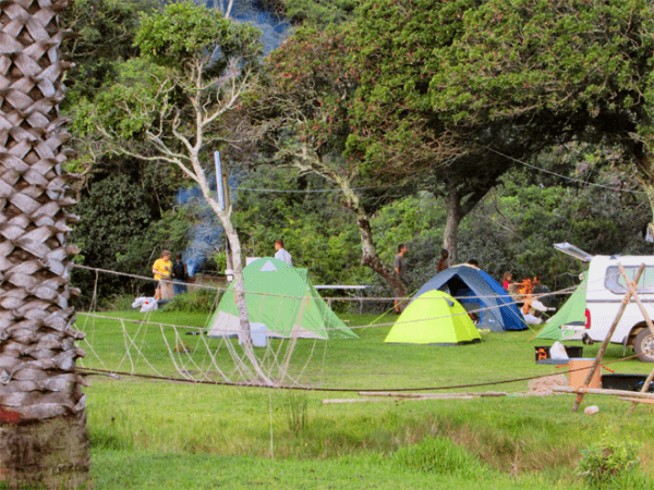Camping at Nature's Rest Holiday Resort