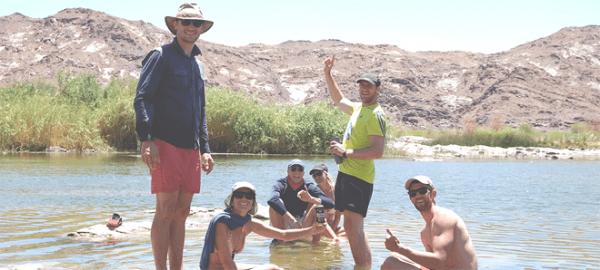 Family Fun at Orange River Rafting