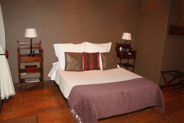 Bedroom at Tuskers Bush Lodge B&B