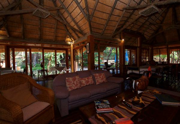Relax at Tuskers Bush Lodge B&B